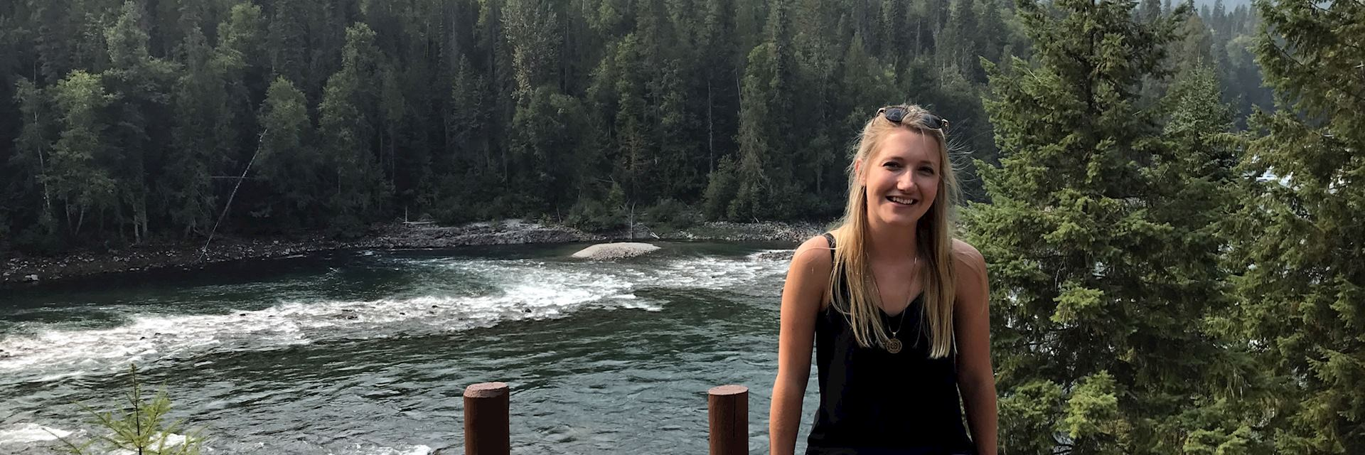 Lucy at Wells Gray