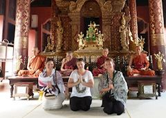 Natalie with Audley colleagues in Chiang Mai, Thailand
