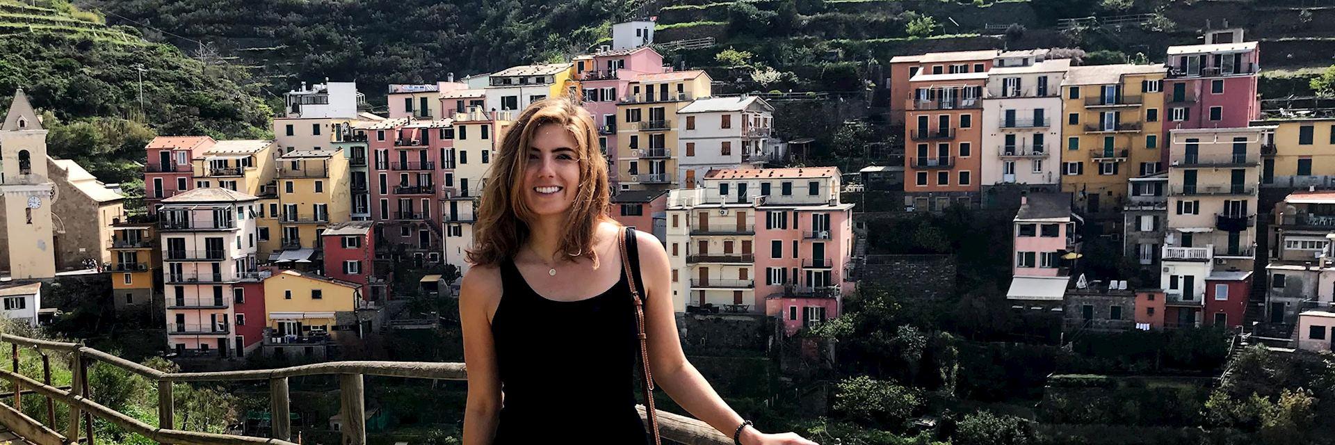 Alanna in Manrola, Cinque Terre, Italy
