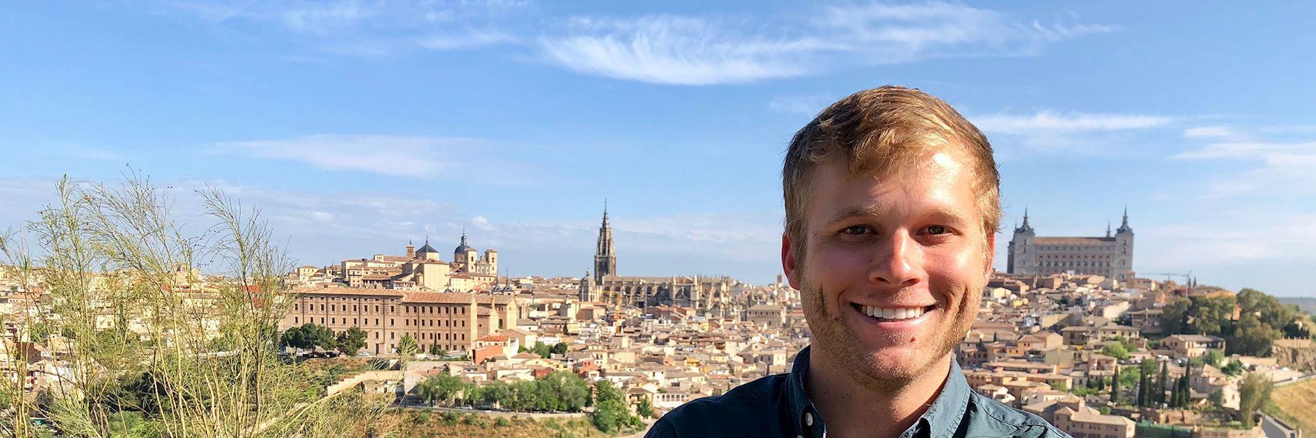 Allan in Toledo, Spain