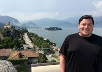 Brandon in Tremezzo, Italy
