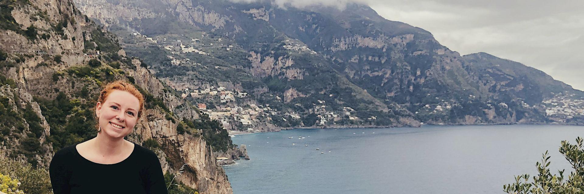 Cissa in Cinque Terre, Italy