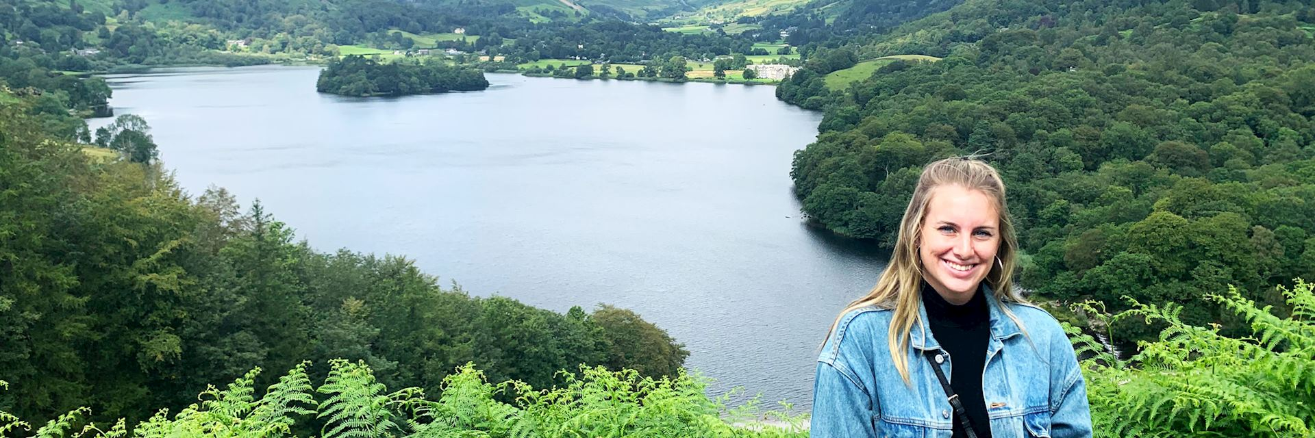 Delaney in the Lake District, England