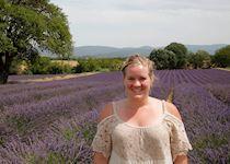 Elizabeth in Provence, France