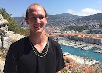 Jesse in Nice, France