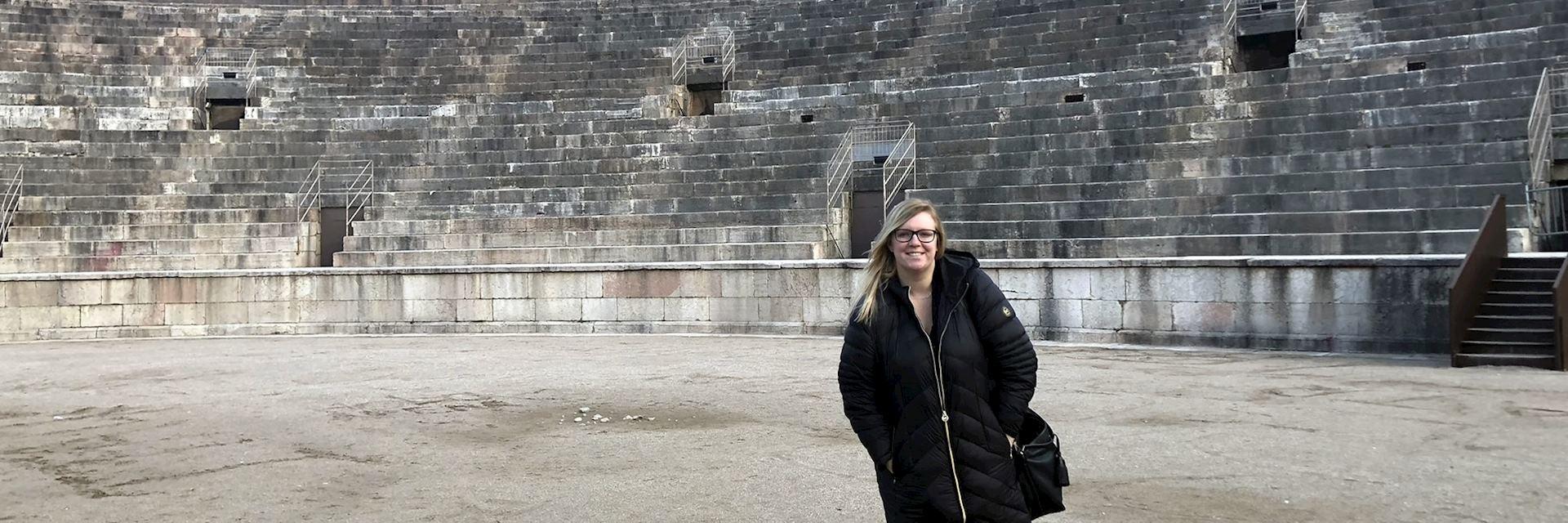 Katie in Verona