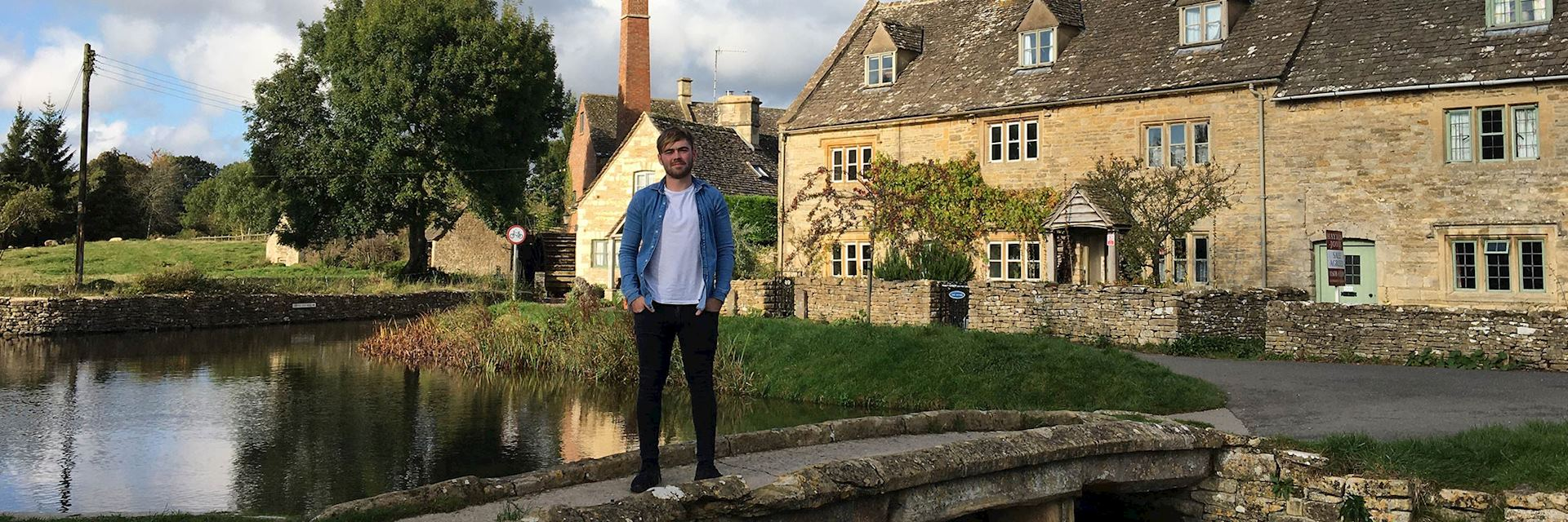 Kevin in the Cotswolds, England