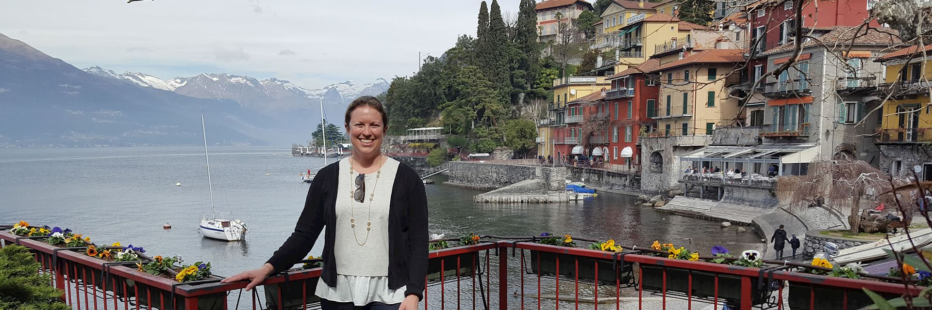 Lindsay at Bellagio, Lake Como