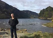 Max at Glendalough, County Wicklow, Ireland