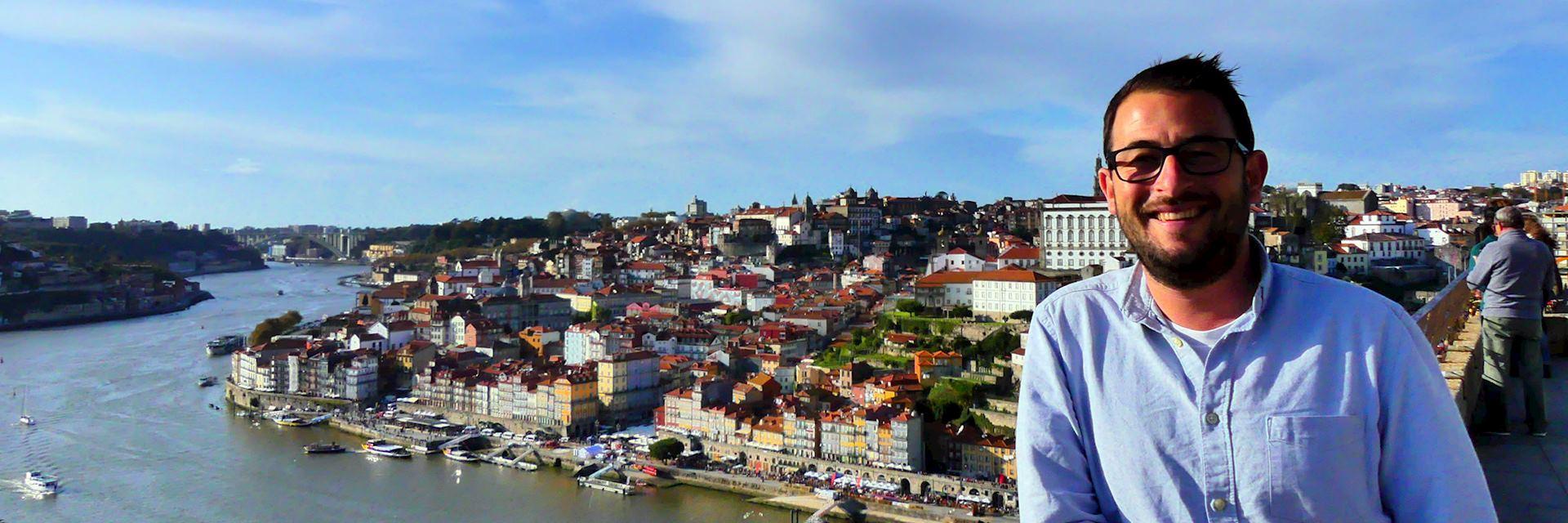 Rob in Porto, Portugal
