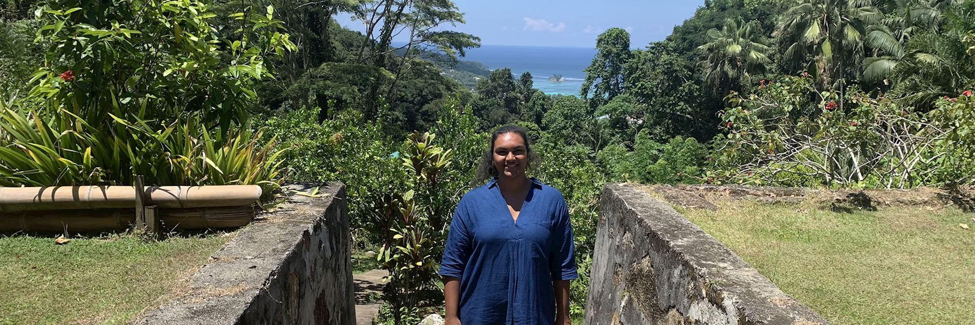 Alisha on Mahé, Seychelles