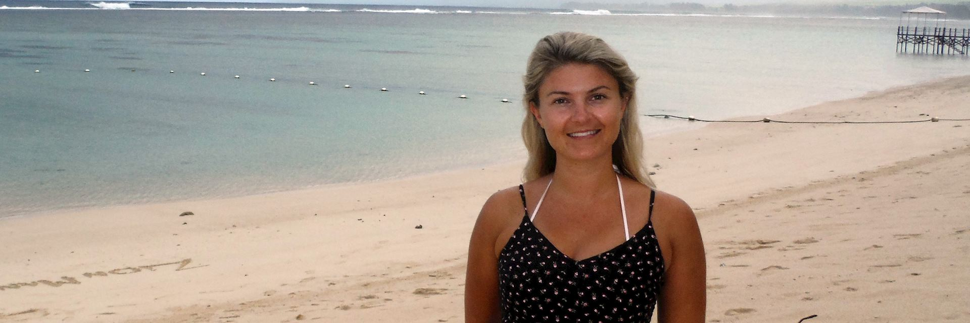 Anna in Mauritius