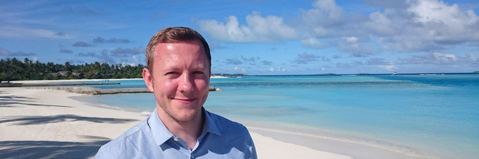 Matt, Niyama, the Maldives