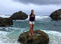 Sarah in Barbados
