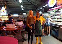 Savina in Kuching, Borneo