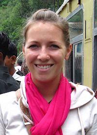 Carol in Shimla, India