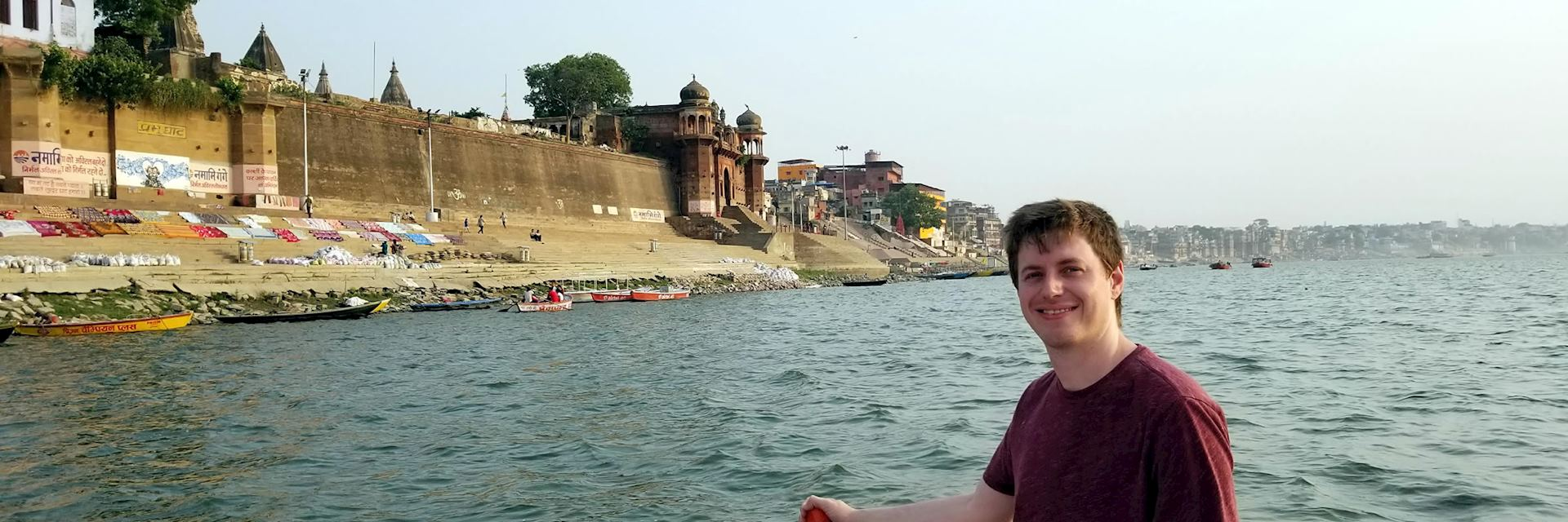 Jackson in Varanasi, India