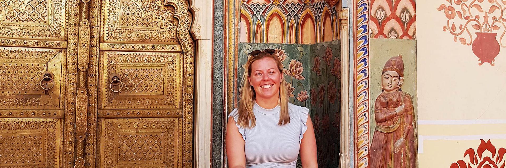 Lauren in Jaipur