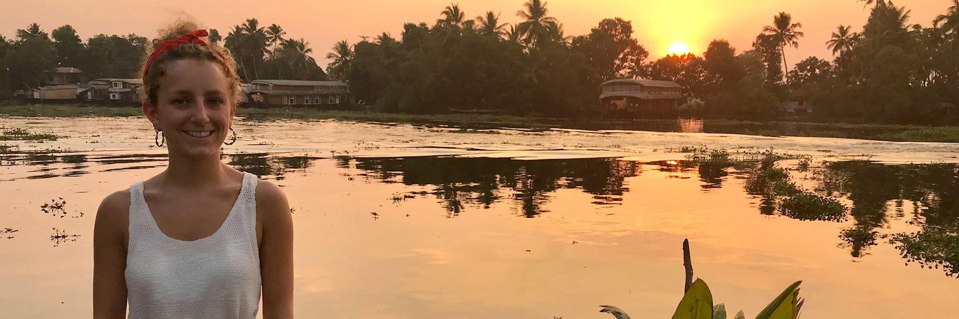 Tara on the Backwaters, Kerala