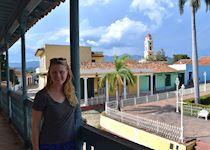 Alison in Trinidad, Cuba
