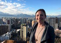 Emma in Santiago, Chile