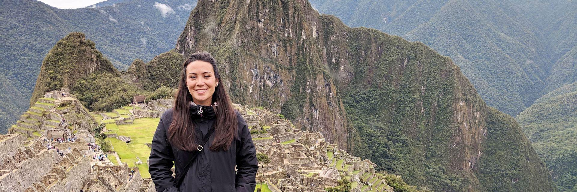 Fathom at Machu Picchu, Peru