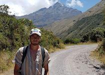 Fin at Cuicocha, Ecuador