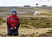 Fiona in the Arctic