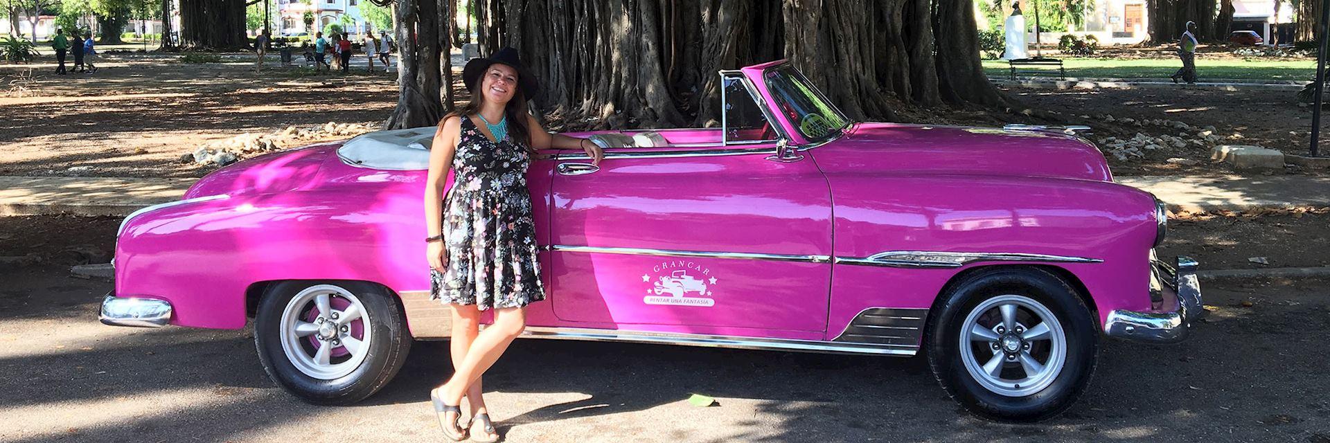 Jen in Havana, Cuba