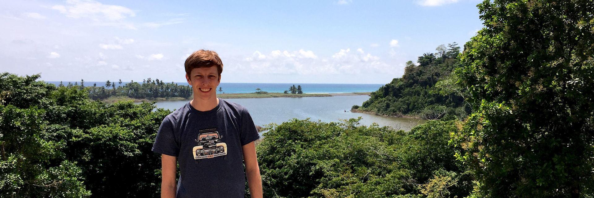 Joe on the Osa Peninsula, Costa Rica