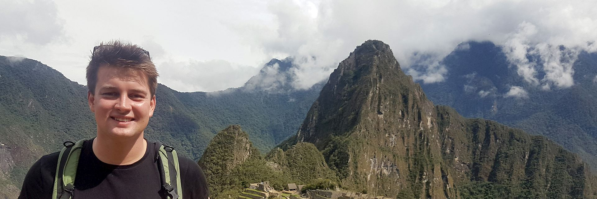 Jonny at Machu Picchu, Peru