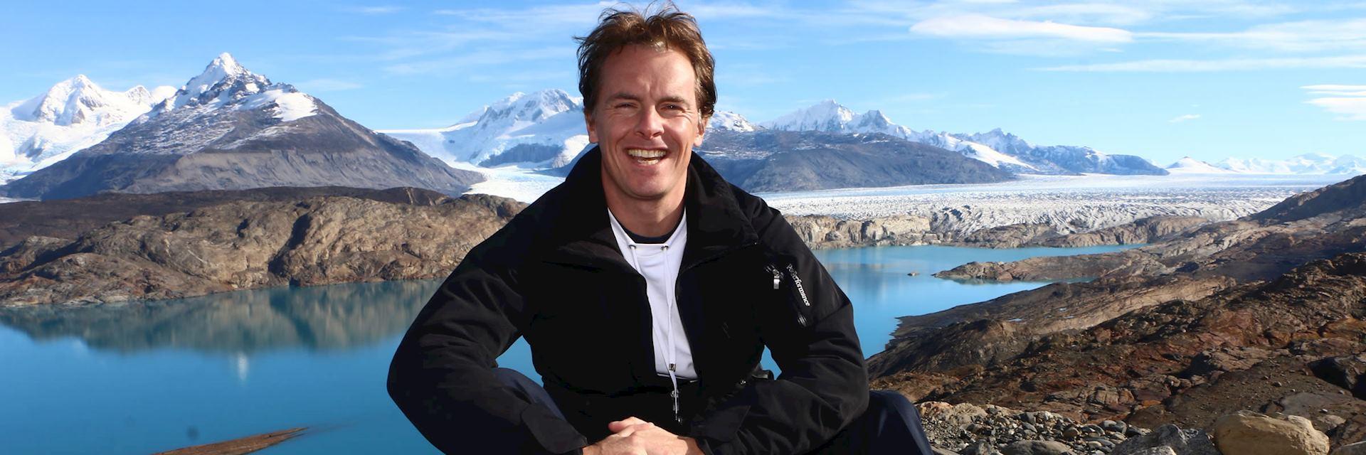 Mark in Patagonia, Argentina