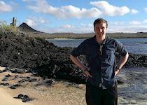 Michael at Cerro Dragon, Santa Cruz Island, Galapagos