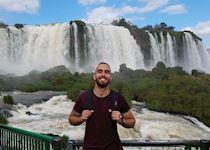 Michael at Iguazú Falls, Argentina