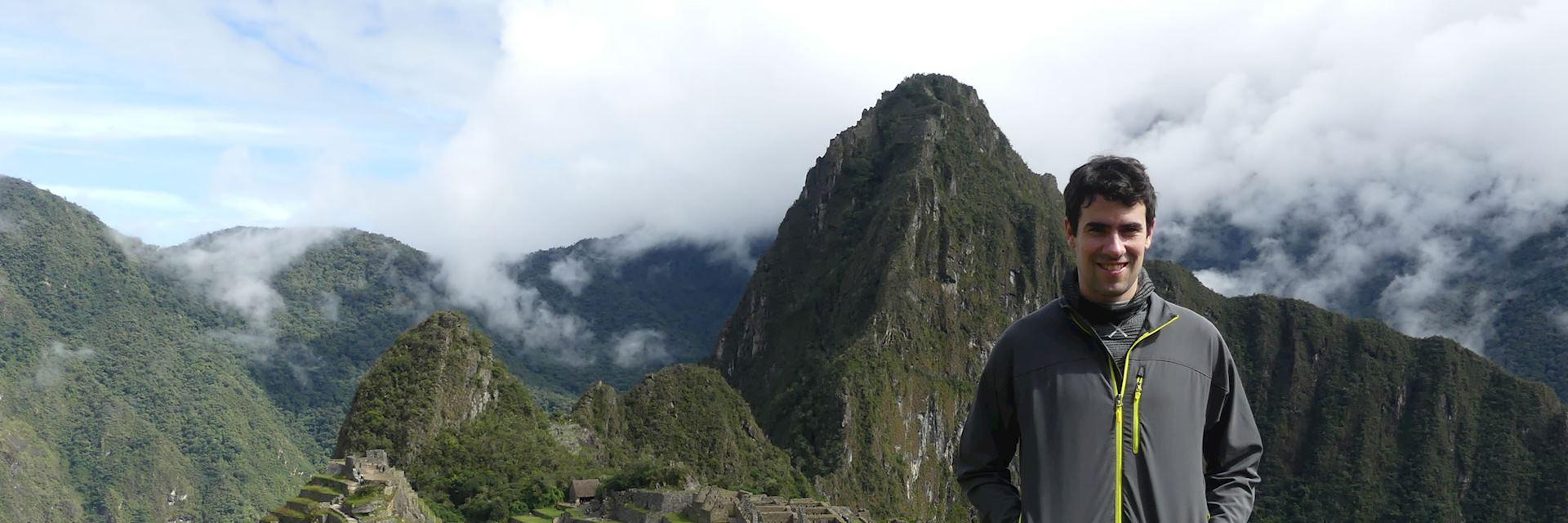 Paco at Machu Picchu, Peru