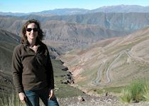 Rebecca in the east of Argentina