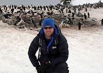 Tom in Antarctica