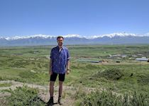 Nick in Kyrgyzstan