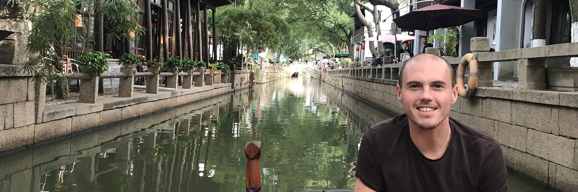 Rick visiting Suzhou, China