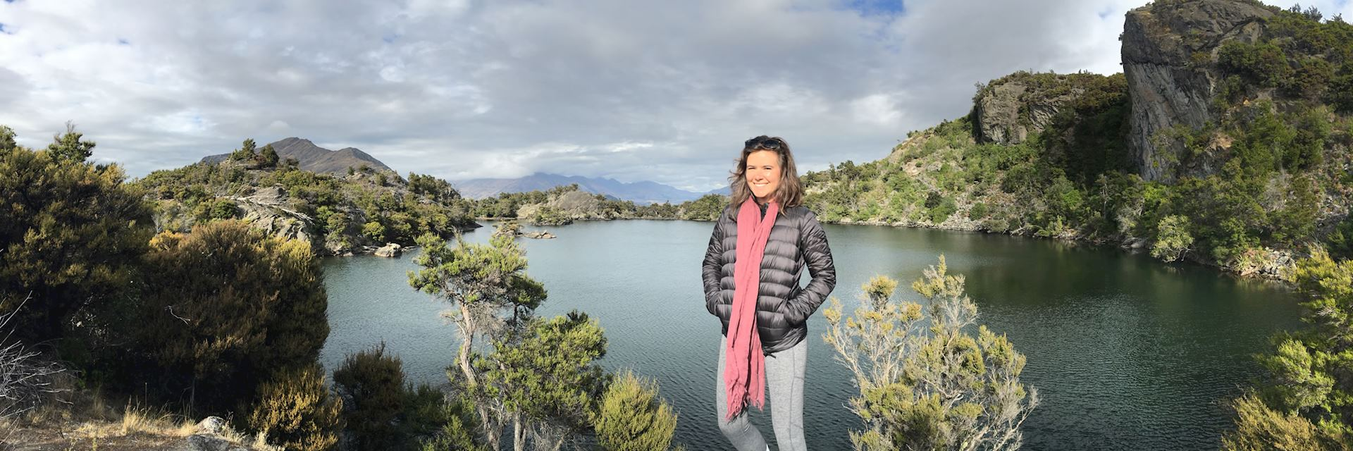 Jessie at Mou Wahu, Lake Wanaka, New Zealand