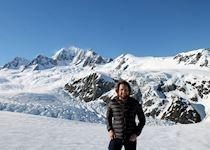 Joe on Fox Glacier