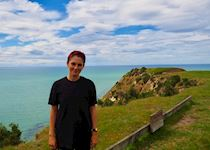 Ophelia on the Cape Kidnappers Gannet Tour, Hawke's Bay