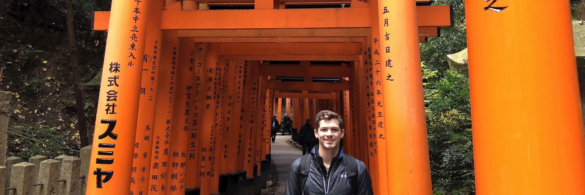 Carter at Fushimi Inari