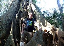 David in Khao Yai National Park, Thailand