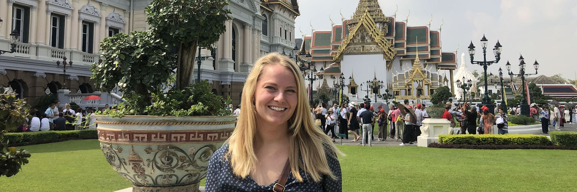 Elise in Thailand