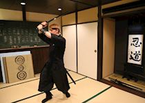 Toby learning the art of the ninja (15th Century Japanese mercenary), Kyoto