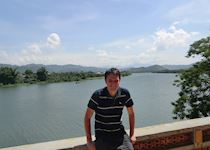 William by the Perfume River, Hue, Vietnam