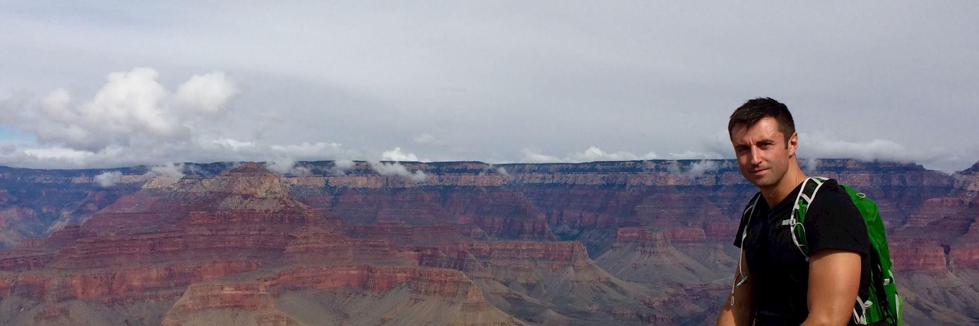 George at Grand Canyon South Rim, Arizona