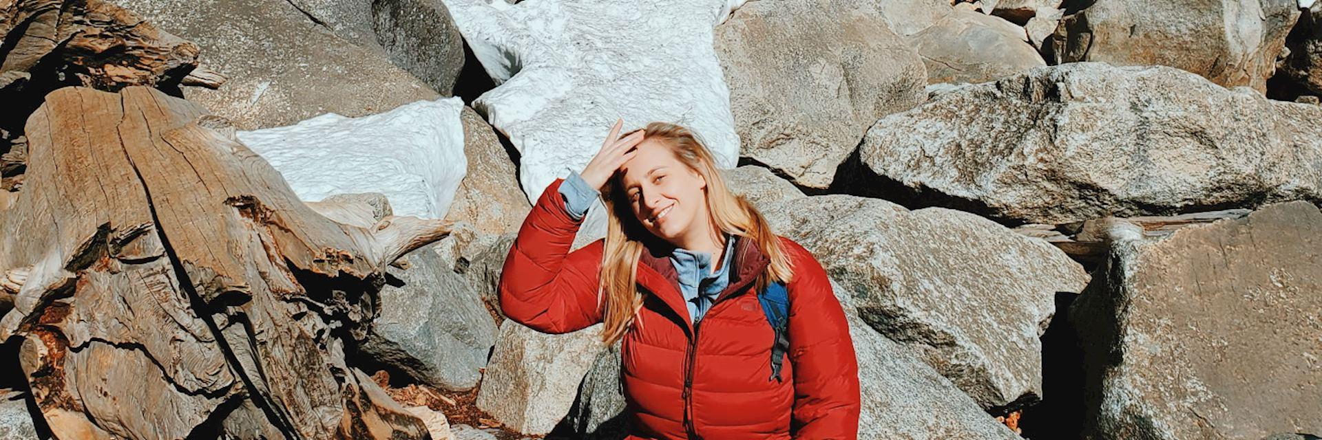 Hayley in Yosemite