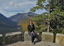 Ida in Glacier National Park, Montana